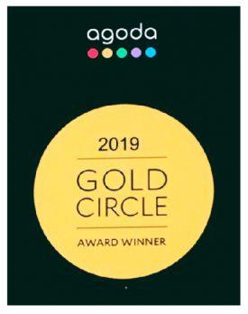 agoda GOLD CIRCLE AWARD 2019 受賞‼