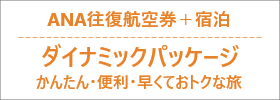 ANA往復航空券+宿泊ダイナミックパッケージ